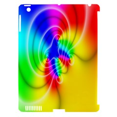 Complex Orange Red Pink Hole Yellow Green Blue Apple Ipad 3/4 Hardshell Case (compatible With Smart Cover) by Mariart