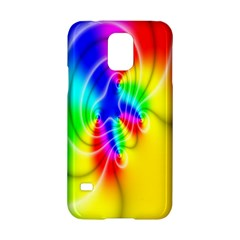 Complex Orange Red Pink Hole Yellow Green Blue Samsung Galaxy S5 Hardshell Case  by Mariart