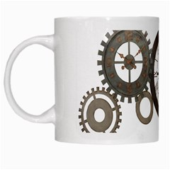 Hour Time Iron White Mugs by Mariart