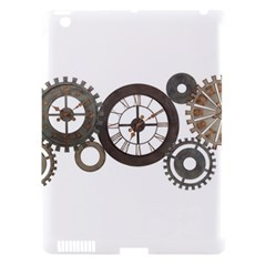 Hour Time Iron Apple Ipad 3/4 Hardshell Case (compatible With Smart Cover) by Mariart