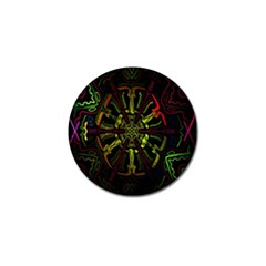 Inner Peace Star Space Rainbow Golf Ball Marker (4 Pack) by Mariart