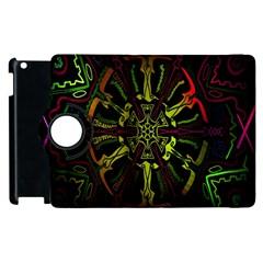 Inner Peace Star Space Rainbow Apple Ipad 3/4 Flip 360 Case by Mariart