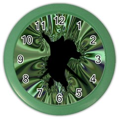 Hole Space Silver Black Color Wall Clocks by Mariart