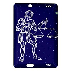 Libra Zodiac Star Amazon Kindle Fire Hd (2013) Hardshell Case by Mariart