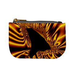 Hole Gold Black Space Mini Coin Purses by Mariart