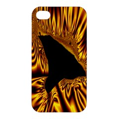 Hole Gold Black Space Apple Iphone 4/4s Hardshell Case by Mariart