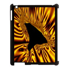 Hole Gold Black Space Apple Ipad 3/4 Case (black) by Mariart