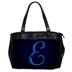Marquis Love Dope Lettering Blue Red Alphabet E Office Handbags by Mariart