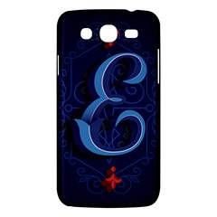 Marquis Love Dope Lettering Blue Red Alphabet E Samsung Galaxy Mega 5 8 I9152 Hardshell Case  by Mariart