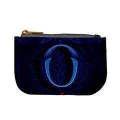 Marquis Love Dope Lettering Blue Red Alphabet O Mini Coin Purses by Mariart