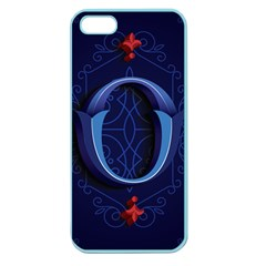 Marquis Love Dope Lettering Blue Red Alphabet O Apple Seamless Iphone 5 Case (color) by Mariart