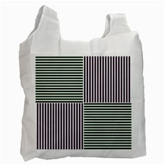 Mccollough Test Image Colour Effec Line Recycle Bag (one Side) by Mariart