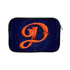 Marquis Love Dope Lettering Blue Red Orange Alphabet P Apple Ipad Mini Zipper Cases by Mariart