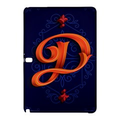 Marquis Love Dope Lettering Blue Red Orange Alphabet P Samsung Galaxy Tab Pro 12 2 Hardshell Case by Mariart