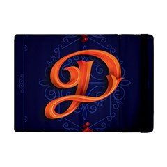 Marquis Love Dope Lettering Blue Red Orange Alphabet P Ipad Mini 2 Flip Cases by Mariart