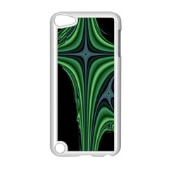 Line Light Star Green Black Space Apple Ipod Touch 5 Case (white) by Mariart