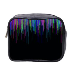 Rain Color Paint Rainbow Mini Toiletries Bag 2 Side by Mariart