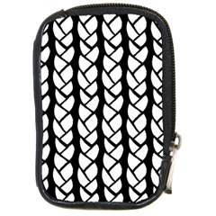 Ropes White Black Line Compact Camera Cases by Mariart
