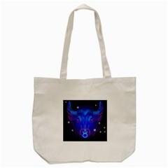 Sign Taurus Zodiac Tote Bag (cream) by Mariart