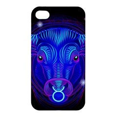 Sign Taurus Zodiac Apple Iphone 4/4s Hardshell Case by Mariart