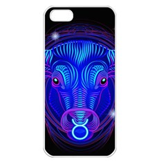 Sign Taurus Zodiac Apple Iphone 5 Seamless Case (white) by Mariart