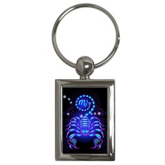 Sign Scorpio Zodiac Key Chains (rectangle)  by Mariart