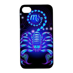 Sign Scorpio Zodiac Apple Iphone 4/4s Hardshell Case With Stand by Mariart