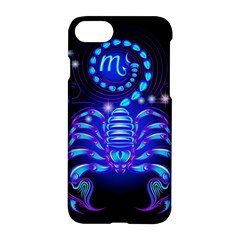 Sign Scorpio Zodiac Apple Iphone 7 Hardshell Case by Mariart