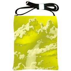 Sky Shoulder Sling Bags by ValentinaDesign