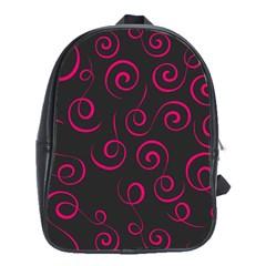 Pattern School Bags (xl)  by ValentinaDesign