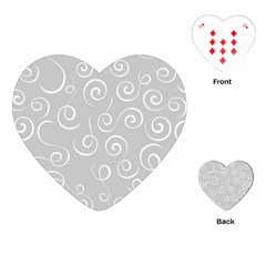 Pattern Playing Cards (heart)  by ValentinaDesign