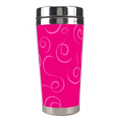 Pattern Stainless Steel Travel Tumblers by ValentinaDesign