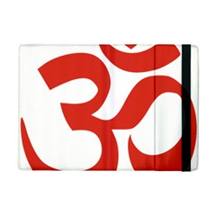 Hindu Om Symbol (red) Ipad Mini 2 Flip Cases by abbeyz71