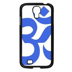 Hindu Om Symbol (royal Blue) Samsung Galaxy S4 I9500/ I9505 Case (black) by abbeyz71