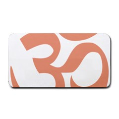 Hindu Om Symbol (salmon) Medium Bar Mats by abbeyz71
