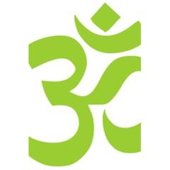Hindu Om Symbol (lime Green) 5 5  X 8 5  Notebooks by abbeyz71