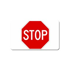 Stop Sign Magnet (name Card) by Valentinaart