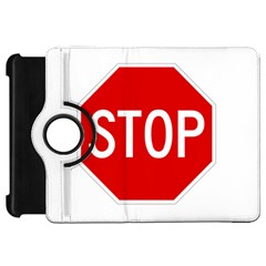 Stop Sign Kindle Fire Hd 7  by Valentinaart