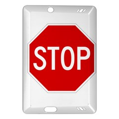 Stop Sign Amazon Kindle Fire Hd (2013) Hardshell Case by Valentinaart