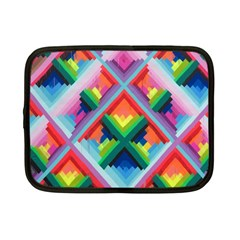Rainbow Chem Trails Netbook Case (small)  by Nexatart
