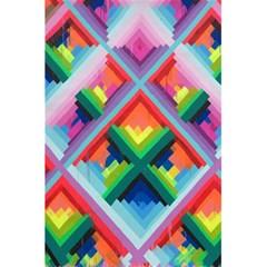 Rainbow Chem Trails 5 5  X 8 5  Notebooks by Nexatart