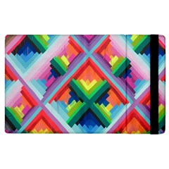 Rainbow Chem Trails Apple Ipad 2 Flip Case by Nexatart