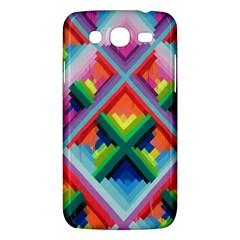 Rainbow Chem Trails Samsung Galaxy Mega 5 8 I9152 Hardshell Case  by Nexatart