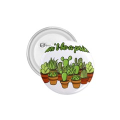 Cactus   Dont Be A Prick 1 75  Buttons by Valentinaart