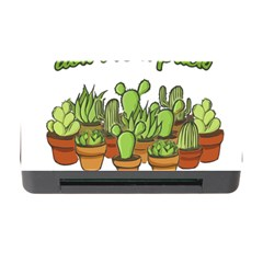 Cactus   Dont Be A Prick Memory Card Reader With Cf by Valentinaart