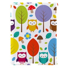 Cute Owl Apple Ipad 3/4 Hardshell Case (compatible With Smart Cover) by Nexatart