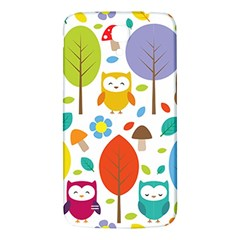 Cute Owl Samsung Galaxy Mega I9200 Hardshell Back Case by Nexatart