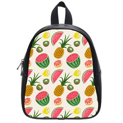 Fruits Pattern School Bags (small)  by Nexatart