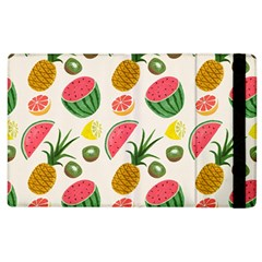 Fruits Pattern Apple Ipad 2 Flip Case by Nexatart