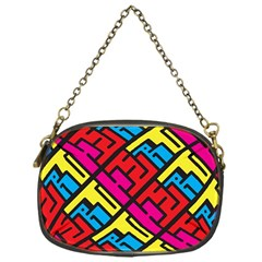 Hert Graffiti Pattern Chain Purses (one Side)  by Nexatart